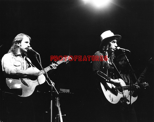 Bellamy Brothers 1977 .© Chris Walter.