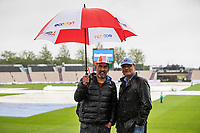 Hardy supporters at the Hampshire Bowl despite incessant heavy rain during India vs New Zealand, ICC World Test Championship Final Cricket at The Hampshire Bowl on 18th June 2021