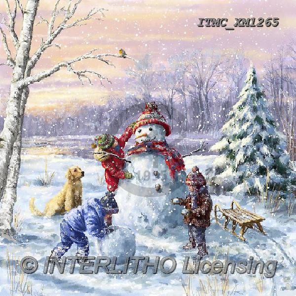 Marcello, CHRISTMAS CHILDREN, WEIHNACHTEN KINDER, NAVIDAD NIÑOS, paintings+++++,ITMCXM1265,#XK#