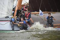 ZEILSPORT: : 23-08-2018, IFKS skûtsjesilen, Echtenerbrug, ©foto Martin de Jong