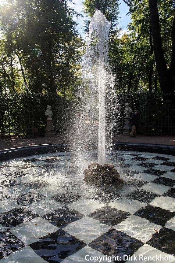 im Sommergarten, St. Petersburg, Russland, UNESCO-Weltkulturerbe