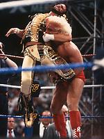 Randy  Macho Man Savage &  Ric Flair 1992<br /> Photo By John Barrett/PHOTOlink