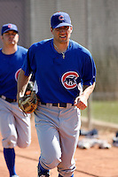 John Gaub - Chicago Cubs - 2009 spring training.Photo by:  Bill Mitchell/Four Seam Images