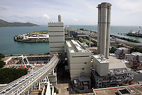 A general view of the 'Hong Kong Electric' (HEC) Lamma Power Station, Hong Kong, China. The station provides power to Hong Kong Island and Lamma Island..29 Jul 2010