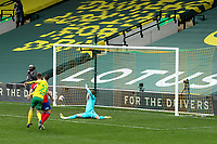 20th March 2021; Carrow Road, Norwich, Norfolk, England, English Football League Championship Football, Norwich versus Blackburn Rovers; Kenny McLean of Norwich City shoots and scores for 1-0 in the 53rd minute