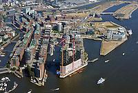 Hamburg Hafencity Uebersicht: EUROPA, DEUTSCHLAND, HAMBURG, (EUROPE, GERMANY), 06.09.2013 Hamburgs Hafencity in der Uebersicht