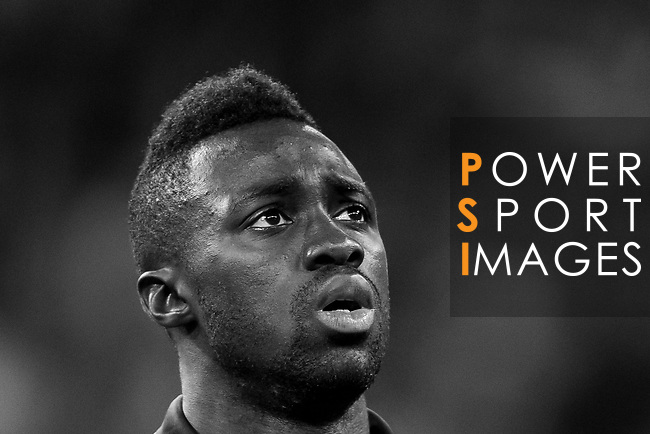 Davinson Sanchez of Tottenham Hotspur FC prior to the UEFA Champions League 2017-18 match between Real Madrid and Tottenham Hotspur FC at Estadio Santiago Bernabeu on 17 October 2017 in Madrid, Spain. Photo by Diego Gonzalez / Power Sport Images