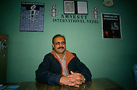 Raju Sarkar, director of Amnesty International, Nepal..-The full text reportage is available on request in Word format