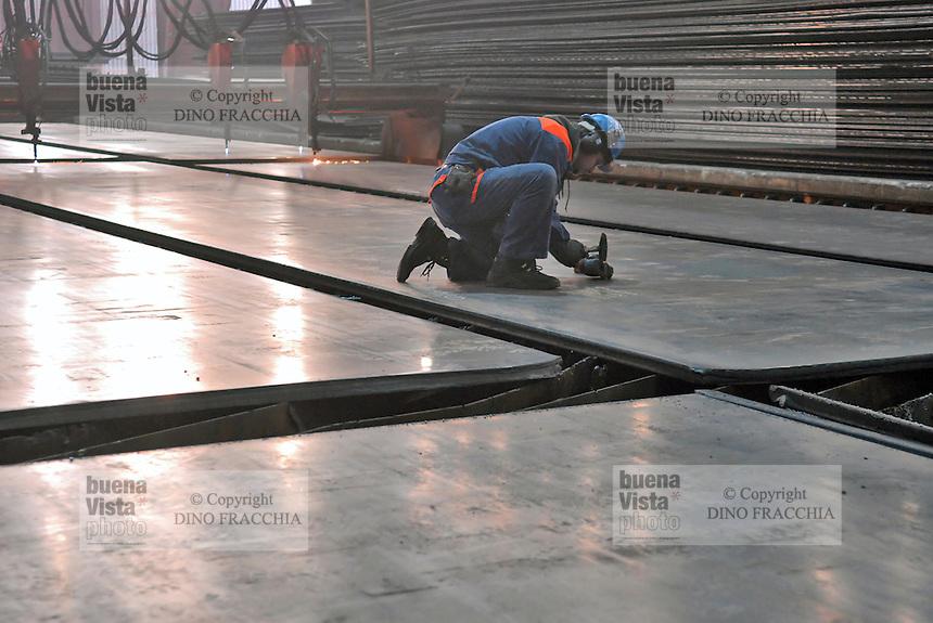 - Valsider foundry, iron industry in Verona for the production of steels for building, coils and sheets -<br /> <br /> - ferriera Valsider, industria siderurgica a Verona per la produzione di acciai da costruzione, coils a caldo e lamiere