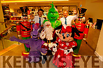 Launching the CH Chemist Santa Parade in the store on Monday evening. Front l to r: Emily Fitzgerald (Twlight Sparkle), Santa Claus and Joan Keating (Minnie Mouse). Back l to r: Peter Harty (CH Chemist), Ellie Ford (Grinch) and Kevin Riardon (CH Chemist)