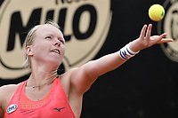BOGOTA -COLOMBIA. 13-04-2017. Kiki Bertens (NED) durante juego contra Cindy Burguer (NED) de segunda ronda del Claro Open Colsanitas WTA 2017 jugado en el Club Los Lagartos en Bogota. /  Kiki Bertens (NED) during match against Cindy Burguer (NED) for the second round round of Claro Open Colsanitas WTA 2017 played at Club Los Lagartos in Bogota city. Photo: VizzorImage/ Gabriel Aponte / Staff