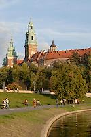 Poland, Krakow, Wawel, Royal Castle