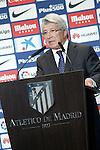 Atletico de Madrid's President Enrique Cerezo. July 14, 2016. (ALTERPHOTOS/Acero)