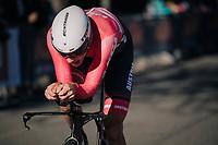 Matthias Brändle (AUT/Trek-Segafredo)<br /> <br /> MEN ELITE INDIVIDUAL TIME TRIAL<br /> Hall-Wattens to Innsbruck: 52.5 km<br /> <br /> UCI 2018 Road World Championships<br /> Innsbruck - Tirol / Austria
