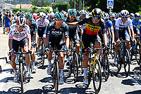 8th July 2021; Nimes, France; VAN AERT Wout (BEL) of JUMBO - VISMA during stage 12 of the 108th edition of the 2021 Tour de France cycling race, a stage of 159,4 kms between Saint-Paul-Trois-Chateaux and Nimes.