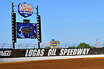 May 27, 2010; 5:31:54 PM; Wheatland, Mo., USA; The  Lucas Oil Late Model Dirt Series running the 18th Annual Dart Show-Me 100 event at the Lucas Oil Speedway.  Mandatory Credit: (thesportswire.net)