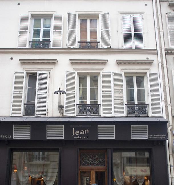 Exterior, Chez Jean Restaurant, Paris, France, Europe