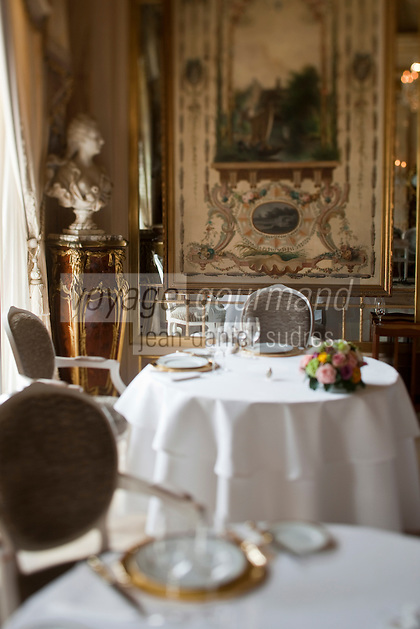 Europe/Monaco/Monte Carlo: Salle du restaurant: Louis XV / Alain Ducasse à l'Hôtel de Paris -  [Non destiné à un usage publicitaire - Not intended for an advertising use]