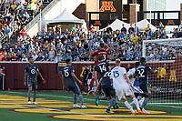 Minneapolis, MN - Saturday, July 14, 2018: Minnesota United FC played Real Salt Lake in a Major League Soccer (MLS) game at TCF Bank Stadium Final score Minnesota United 3, Salt Lake 2