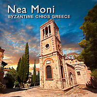 Nea Moni Monastery World Heritage, Chios,  Pictures, Images & Photos