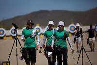 Alejandra Valencia,Aida Roman y Mariana Avitia ,durante su prticipacion con el equipo Mexicano femenil de Tiro con Arco que se llevo la medalla de Oro en la prueba de 70 metros   de el  torneo  Arizona Cup 2013 en  BEN Avery. 6 abril 2013 en Phoenix Arizona......during his prticipacion with Mexican women's team archery that took the gold medal in the 70 meter test the Arizona Cup tournament 2013 in Ben Avery. April 6, 2013 in Phoenix Arizona