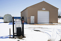 The former Bethel Heights water utilities building is shown, Saturday, February 20, 2021 in Springdale. Check out nwaonline.com/210221Daily/ for today's photo gallery. <br /> (NWA Democrat-Gazette/Charlie Kaijo)
