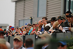 Fans during the running of the Rebel Stakes (Grade II) at Oaklawn Park in Hot Springs, Arkansas-USA on March 15, 2014. (Credit Image: © Justin Manning/Eclipse/ZUMAPRESS.com)