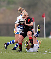 Sunday 7 April 2019 | Carrick W vs Dungannon W<br /> <br /> Christianne Orr during the Rejenerate Cup Final between Carrick and Dungannon at Super Sunday Finals Day at Tom Simms Memorial Park, Carrickfergus RFC, County Antrim, Northern Ireland . Photo by John Dickson / DICKSONDIGITAL