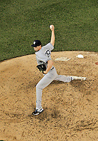 15 June 2012: New York Yankees pitcher Cody Eppley on the mound against the Washington Nationals at Nationals Park in Washington, DC. The Yankees defeated the Nationals 7-2 in the first game of their 3-game series. Mandatory Credit: Ed Wolfstein Photo