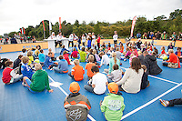 15-09-12, Netherlands, Amsterdam, Tennis, Daviscup Netherlands-Suisse, Junior press conference with Thiemo de Bakker and Igor Sijsling