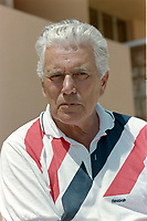 ARCHIVE: MONACO:  JUNE 1988: John Forsythe at celebrity tennis tournament in Monaco.<br /> File photo © Paul Smith/Featureflash