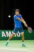 Rotterdam, The Netherlands, Februari 9, 2016,  ABNAMROWTT, Hyeon Chung (KRO)<br /> Photo: Tennisimages/Henk Koster