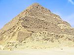 Step Pyramid of Djoser at the Egyptian burial ground of Sakkara near Cairo, Egypt.