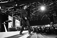 April 20 , 2014 - The Leader of the Liberal Party of Canada, Justin Trudeau, deliver a speech to delegates at the opening of the Liberal Biennial Convention in Montreal.<br /> <br /> Le chef du Parti liberal du Canada, Justin Trudeau, s'adresse aux delegue(e)s pour ouvrir le Congres biennal liberal à Montreal,  Jeudi 20 février 2014.<br /> <br /> Photo : Philippe  Manh Nguyen-  Agence Quebec Presse