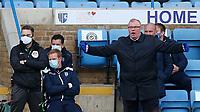 Gillingham Manager, Steve Evans during Gillingham vs Charlton Athletic, Sky Bet EFL League 1 Football at the MEMS Priestfield Stadium on 21st November 2020