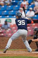 Potomac shortstop Ian Desmond (35) at bat versus Winston-Salem at Ernie Shore Field in Winston-Salem, NC, Thursday, August 2, 2007.