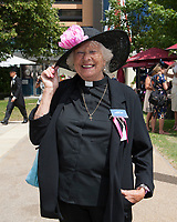 The Racecourse Chaplain during The Coronation Stakes Day of Royal Ascot 2017 at Royal Ascot Racecourse on Friday 23rd June 2017 (Photo by Rob Munro/Stewart Communications)