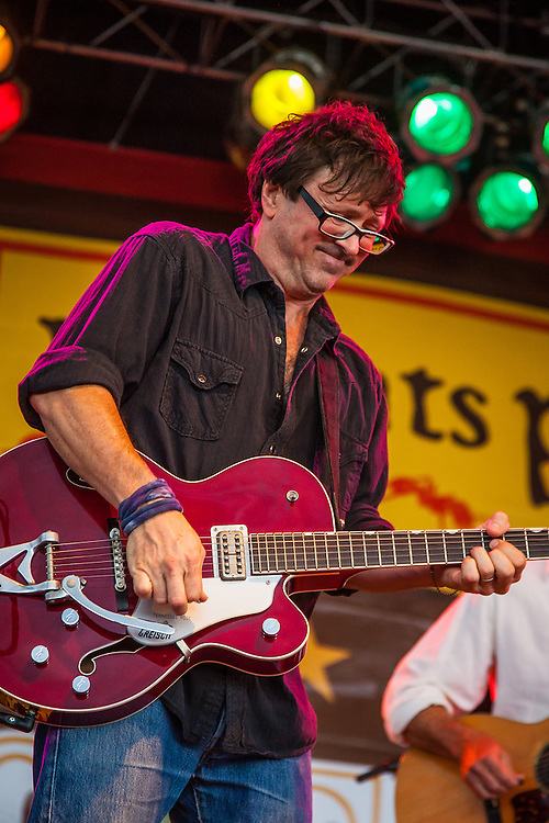 Will Kimbrough of the Rodney Crowell Band performs at the Red Ants Pants Music Fest