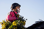 November 6, 2020: Vequist, ridden by Joel Rosario, wins the Juvenile Fillies on Breeders' Cup Championship Friday at Keeneland on November 6, 2020: in Lexington, Kentucky. Leah Vasquez/Eclipse Sportswire/Breeders Cup/CSM
