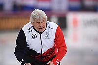 SPEEDSKATING: HAMAR: 01-03-2020, ISU World Speed Skating Championships, Allround, 1500m Ladies, Petr Novák (Coach CZE), ©photo Martin de Jong