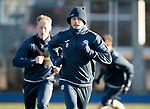 St Johnstone Training…08.12.17<br />Murray Davidson pictured at McDiarmid Park today during training ahead of tomorrow's game at Hamilton<br />Picture by Graeme Hart.<br />Copyright Perthshire Picture Agency<br />Tel: 01738 623350  Mobile: 07990 594431
