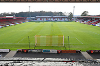 General view of the Lamex Stadium during Stevenage vs Concord Rangers , Emirates FA Cup Football at the Lamex Stadium on 7th November 2020