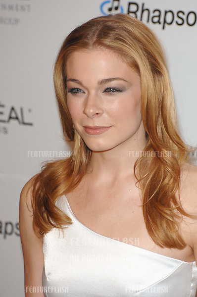 LEANNE RIMES at the Clive Davis pre-Grammy Party at the Beverly Hilton Hotel..February 11, 2007  Beverly Hills, CA.Picture: Paul Smith / Featureflash