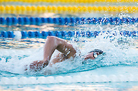 Santa Clara, California - Saturday June 4, 2016: Conor Dwyer races in the Men's 400 LC Meter Freestyle at the Arena Pro Swim Series at Santa Clara A final.