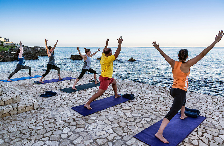 Yoga retreat practice and instruction, Negril, Jamaica