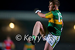 Ruairí Burns, Kerry during the Munster Minor Semi-Final between Kerry and Cork in Austin Stack Park on Tuesday evening.