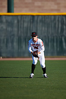 AJ Miller during the Under Armour All-America Tournament powered by Baseball Factory on January 18, 2020 at Sloan Park in Mesa, Arizona.  (Zachary Lucy/Four Seam Images)