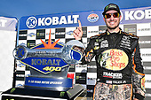 2017 Monster Energy NASCAR Cup Series - Kobalt 400<br /> Las Vegas Motor Speedway - Las Vegas, NV USA<br /> Sunday 12 March 2017<br /> Martin Truex Jr, Bass Pro Shops/TRACKER BOATS Toyota Camry celebrates his win in Victory Lane<br /> World Copyright: Nigel Kinrade/LAT Images<br /> ref: Digital Image 17LAS1nk07873