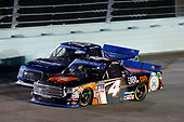 NASCAR Camping World Truck Series<br /> Ford EcoBoost 200<br /> Homestead-Miami Speedway, Homestead, FL USA<br /> Friday 17 November 2017<br /> Christopher Bell, JBL Toyota Tundra Austin Cindric, Draw-Tite / Reese Brands Ford F150<br /> World Copyright: Matthew T. Thacker<br /> LAT Images