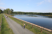 The Ragged Mountain Reservoir water supply located in Albemarle County, Va. Photo/Andrew Shurtleff